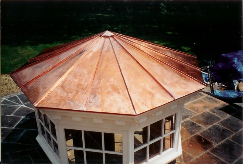 Matthew roofing for Copper standing seam roof